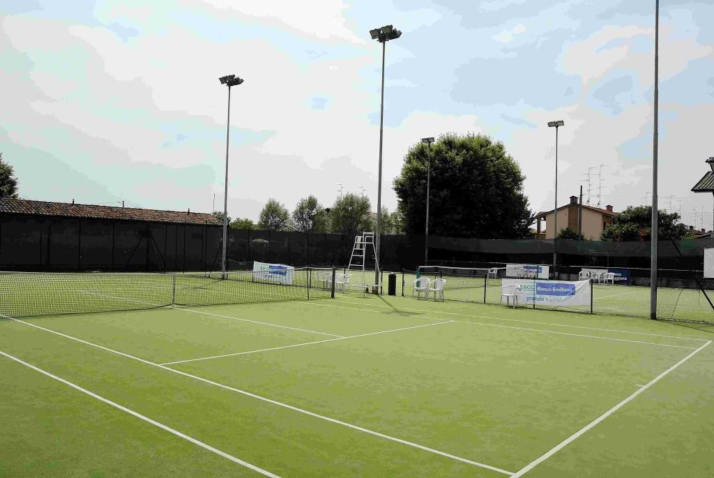 i campi da tennis
